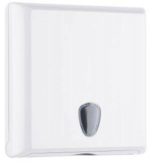 Dispenser Asciugamani in Carta Interfogliati a Z Bianco